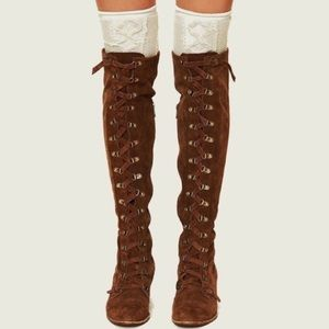 Jeffery Campbell Free People Johnny Tall Boots